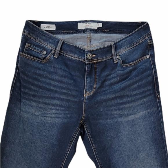 Torrid Luxe Slim Boot Cut Stretch Jeans 14